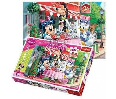 Trefl Disney Minnie İn A Cafe 160 Parça Puzzle